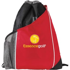 Sidecar Drawstring Pack Imprinted with Your Logo