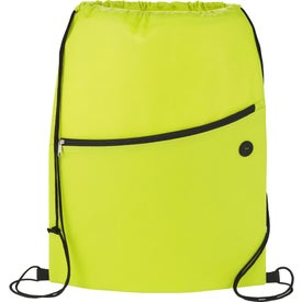 The Sidekick Drawstring Cinch Backpack with Your Logo