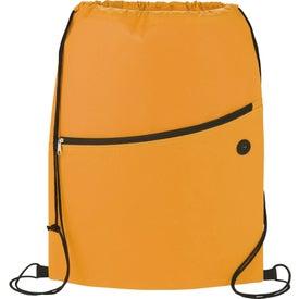Custom The Sidekick Drawstring Cinch Backpack