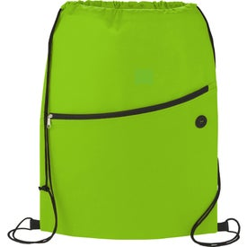 The Sidekick Drawstring Cinch Backpack Branded with Your Logo