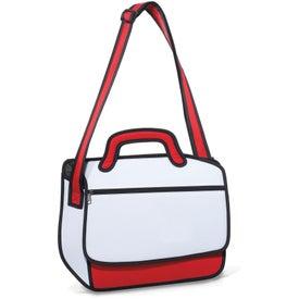 Logo Sketch Messenger Bag