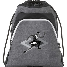 Slazenger Competition Reveal Drawstring Sportspack