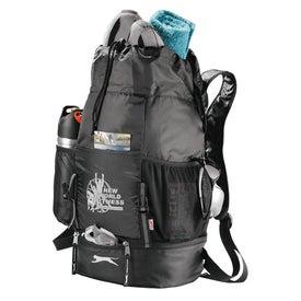 Slazenger Drop-Bottom Drawstring Backpack Imprinted with Your Logo