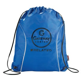 Slazenger Racer Cinch Bag Imprinted with Your Logo