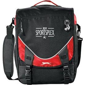Slazenger Sport Vertical Compu-Messenger Bag