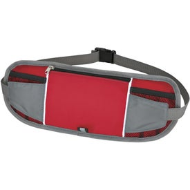 Slim-N-Sleek Waist Pack Printed with Your Logo