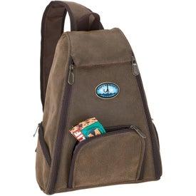 Monogrammed Sling Bag Coffee Set