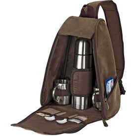 Logo Sling Bag Coffee Set