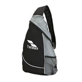 Printed Polyester Sling Bag