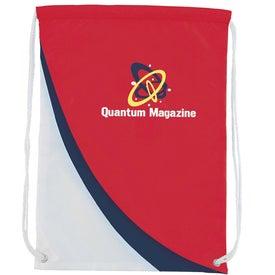 Slopes Drawstring Backpack for Marketing