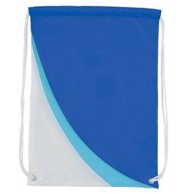 Slopes Drawstring Backpack for Customization