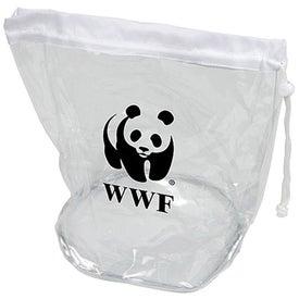 Small Clear Drawstring Bag