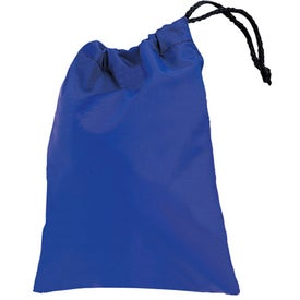 Promotional Small Clear Drawstring Bag with Custom Logo for $1.79 Ea.