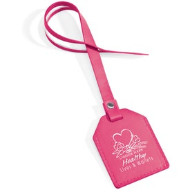 Small-N-Smart Leatherette Bag Tag for your School