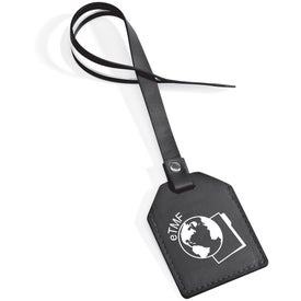 Small-N-Smart Leatherette Bag Tag Branded with Your Logo
