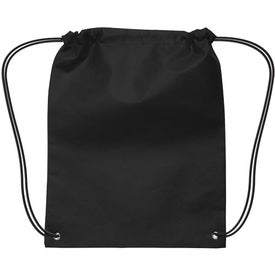 Small Non-Woven Drawstring Backpack Branded with Your Logo