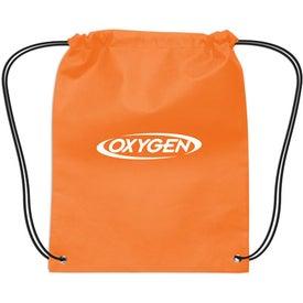 Logo Small Non-Woven Drawstring Backpack