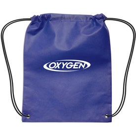 Small Non-Woven Drawstring Backpack for Advertising