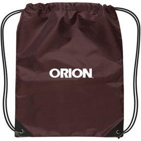 Imprinted Small Nylon Drawstring Backpack
