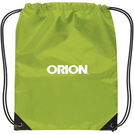 Small Nylon Drawstring Backpack for Advertising