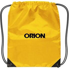 Promotional Small Nylon Drawstring Backpack