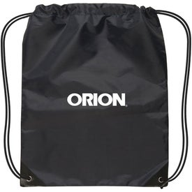 Advertising Small Nylon Drawstring Backpack