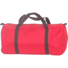 Small Round Duffel for Your Company