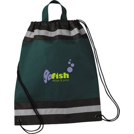 Small Eagle Drawstring Cinch Backpack for Your Organization