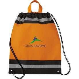 Personalized Small Eagle Drawstring Cinch Backpack