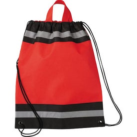 Small Eagle Drawstring Cinch Backpack for Your Company