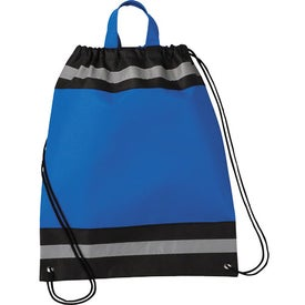 Small Eagle Drawstring Cinch Backpack Imprinted with Your Logo
