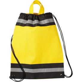 Small Eagle Drawstring Cinch Backpack for Your Church