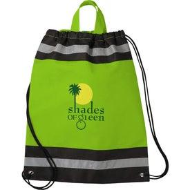Company Small Eagle Drawstring Cinch Backpack