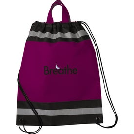 Imprinted Small Eagle Drawstring Cinch Backpack