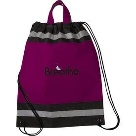 Imprinted Small Eagle Drawstring Cinch Backpack