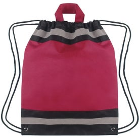 Small Non-Woven Reflective Hit Sports Pack Printed with Your Logo