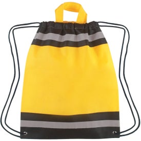 Small Non-Woven Reflective Hit Sports Pack for your School