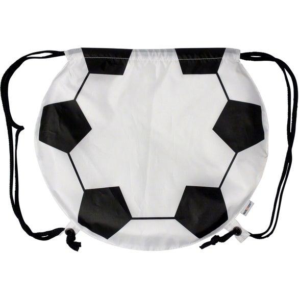 Promotional Soccer Ball Drawstring Backpacks with Custom Logo for ...