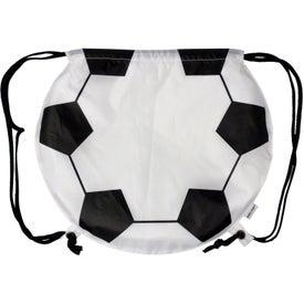 Soccer Ball Drawstring Backpack