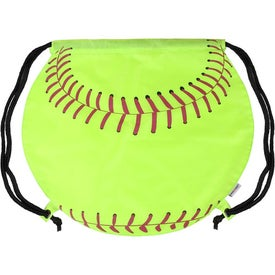 Logo GameTime Softball Drawstring Backpack
