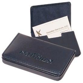 Monogrammed Soho Magnetic Card Case