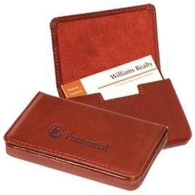 Imprinted Soho Magnetic Card Case
