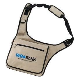 Personalized Soho Messenger Saddle Bag