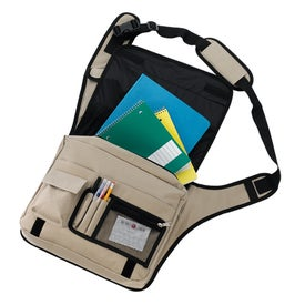 Branded Soho Messenger Saddle Bag