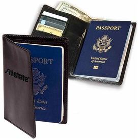 Soho Passport Wallet for Advertising