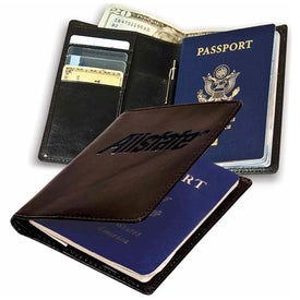 Monogrammed Soho Passport Wallet