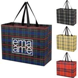 Soho Tartan Laminated Non-Woven Shopper Bag