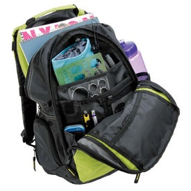 Personalized sol Exposure Backpack