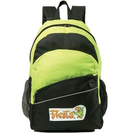 Solara Backpack Imprinted with Your Logo