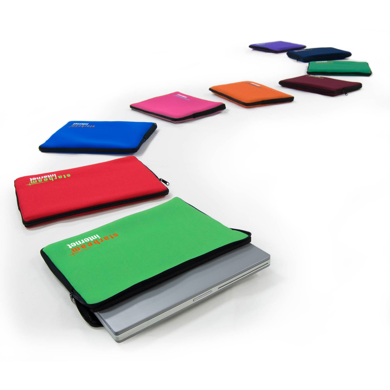Solid Color Laptop Sleeve Standard Size